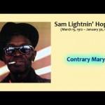 Lightnin Hopkins - Contrary Mary